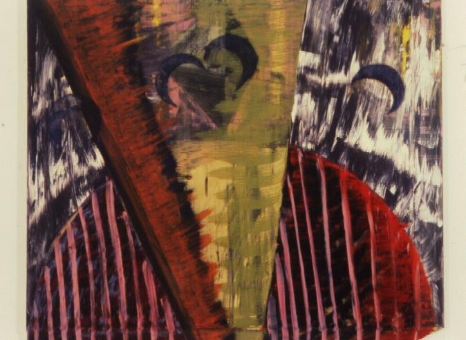 Blue MoonsYear: 1982, Dimensions: 44 x 52, Status: Available Medium: oil on canvas